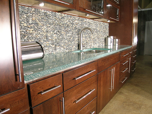 Karesh glass llc for Counter top thickness